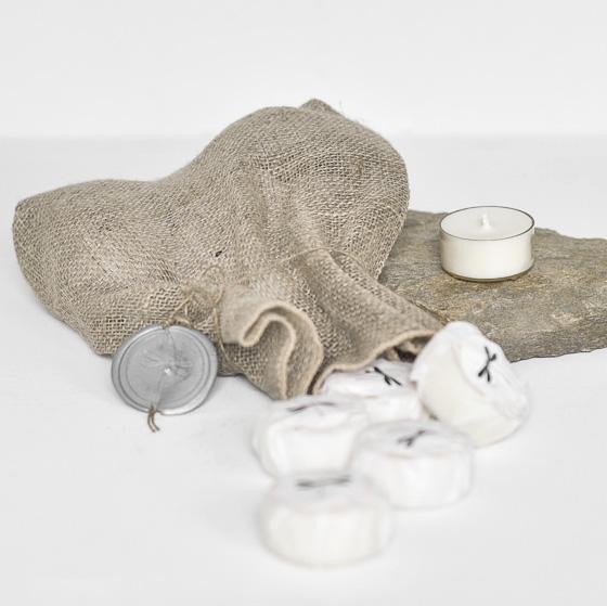 Tealight rzepakowy - Zapach Energii
