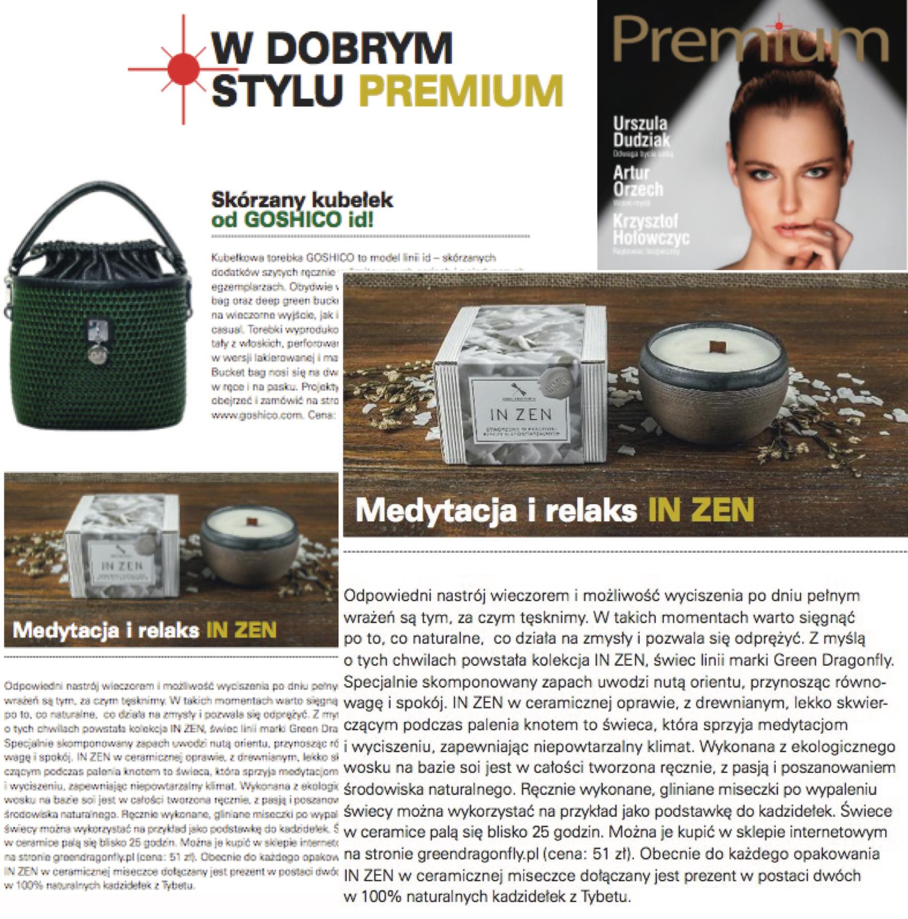 Green Dragonfly w magazynie Premium