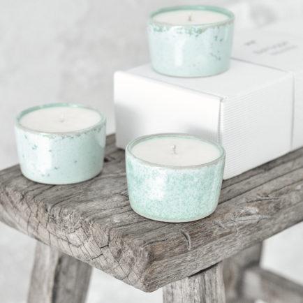 Zestaw świec BeHygge – Scandi Mint