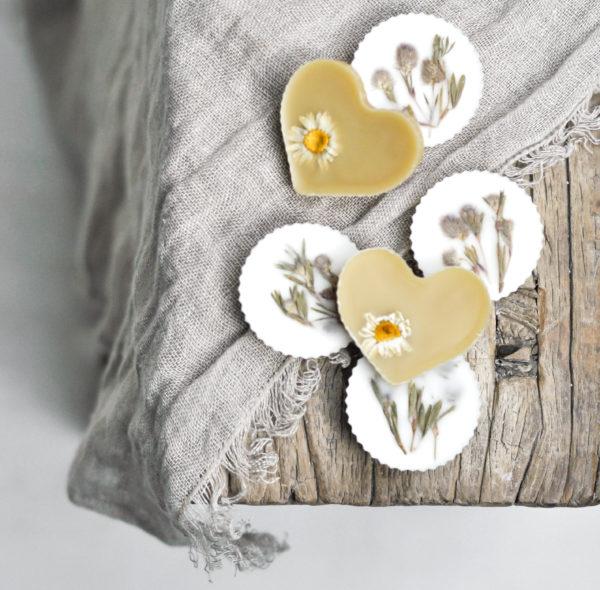 Pachnidełka, krążki zapachowe z dziką koniczyną o energetyzującym zapachu