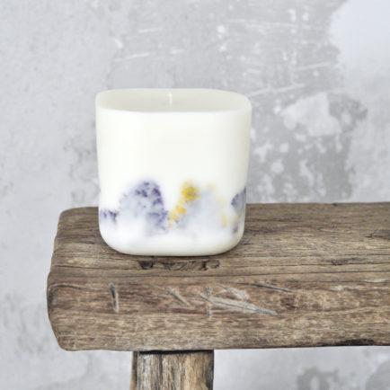 Świeca duża In Velvet – Zapach Optymizmu